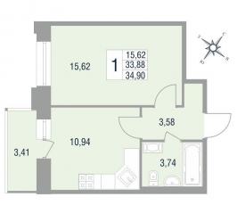 Фото планировки Новый Лесснер от Отделстрой. Жилой комплекс