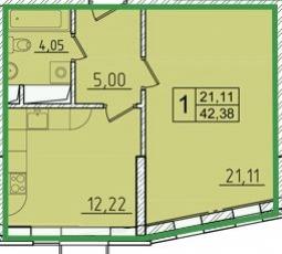 Фото планировки Опалиха-Village от Деметра Групп. Жилой комплекс Опалиха-Вилладж