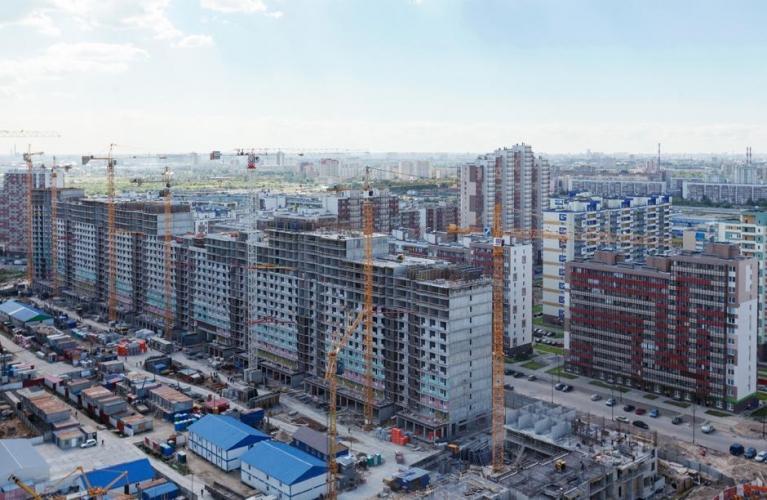 Доля строительной отрасли в общем кредитном портфеле банков снижается, объем просрочки растет