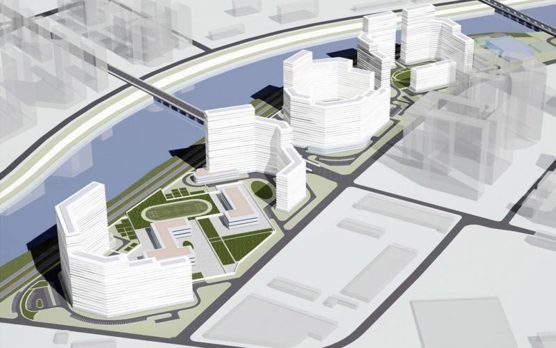 До 2025 года в столице планируется построить 18 новых транспортных и пешеходных мостов через Москву-реку