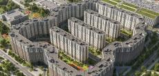 Начались продажи квартир во второй очереди ЖК «Новое Купчино»