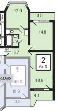 Фото планировки Жемчужина Балашихи от ПИК. Жилой комплекс