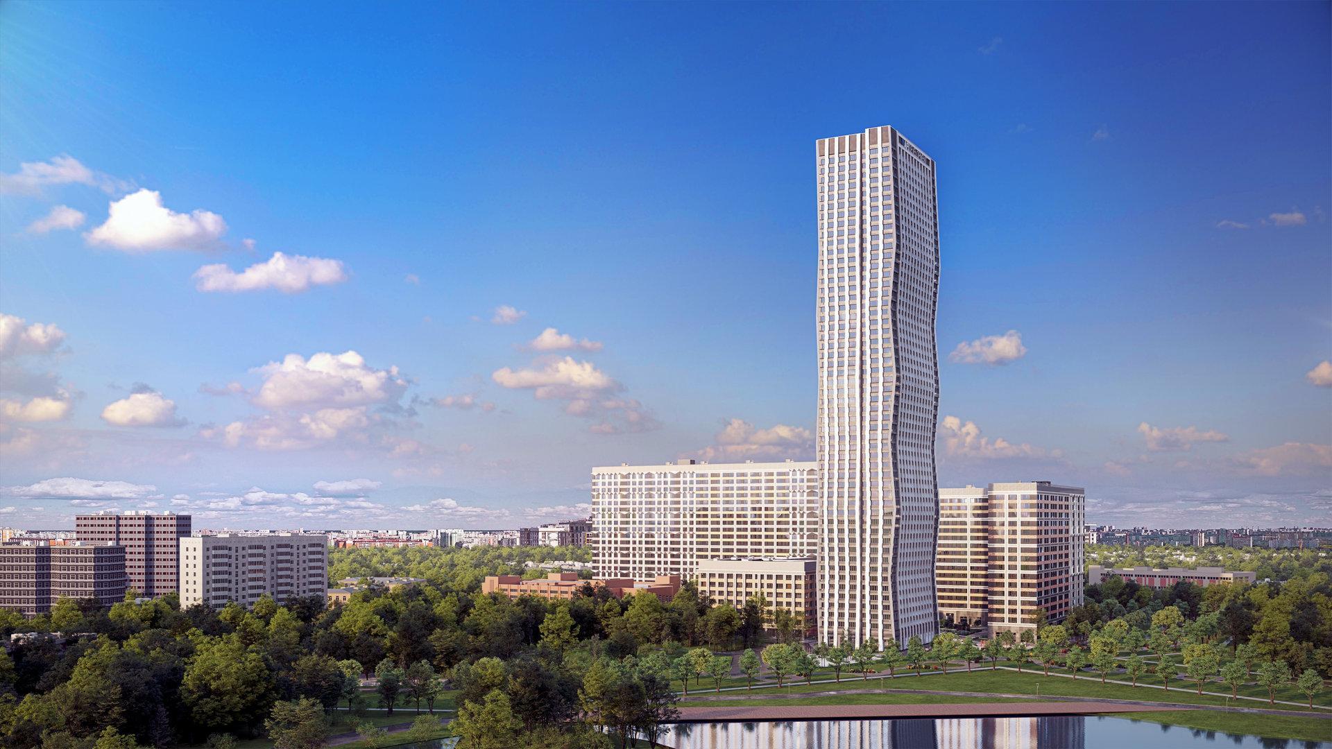 Фото ЖК AFI Tower от AFI Development. Жилой комплекс АФИ Тауэр