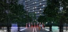 В Мурино появится современный фонтанный комплекс с подсветкой