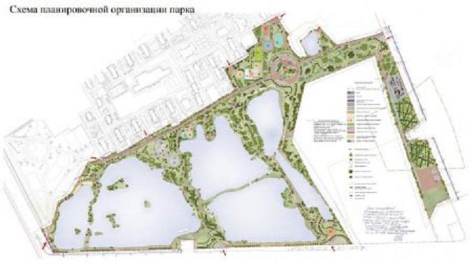 СПб ГКУ «Центр комплексного благоустройства» объявило новый конкурс на строительство парка Героев Пожарных в Купчино