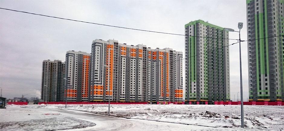 Группа ЛСР и Setl Group лидируют в рэнкинге застройщиков Петербурга с объемами строительства более 1 млн кв. м