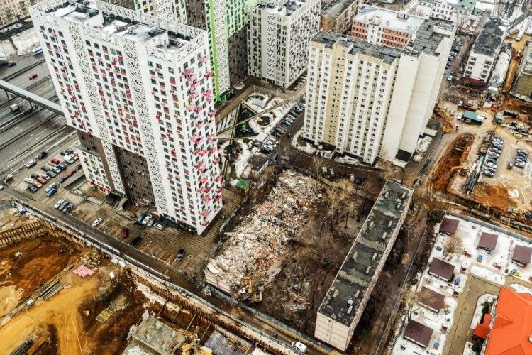 Стартовые площадки под строительство по программе реновации расположатся в пяти округах Москвы