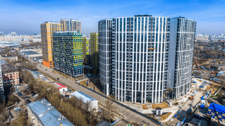 Компания MR Group вводит в эксплуатацию жилой квартал «Фили Град-2» - часть проекта территории «Большой Сити»