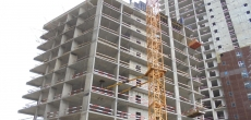 Объемы ввода жилья в Петербурге упали на 40%