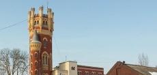 В Петербурге продают водонапорную (Пристрельную) башню Обуховского завода в Уткиной заводи
