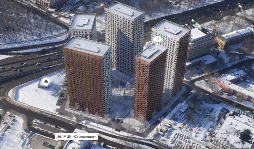 ГК ПИК построит апарт-отель «Волоколамское 24» рядом с МЦК «Стрешнево»