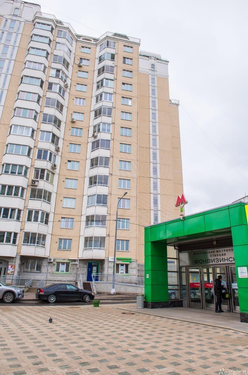 Продать Квартиры вторичка Москва,  Марфино,  Фонвизинская, Милашенкова ул
