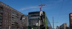 Линия первого петербургского частного трамвая будет продлена до Малой Охты, где строится новое кольцо