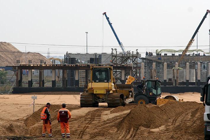 Из-за найденных захоронений срок строительства развязки к «Экспофоруму» перенесен с 2018 года на 2019-й