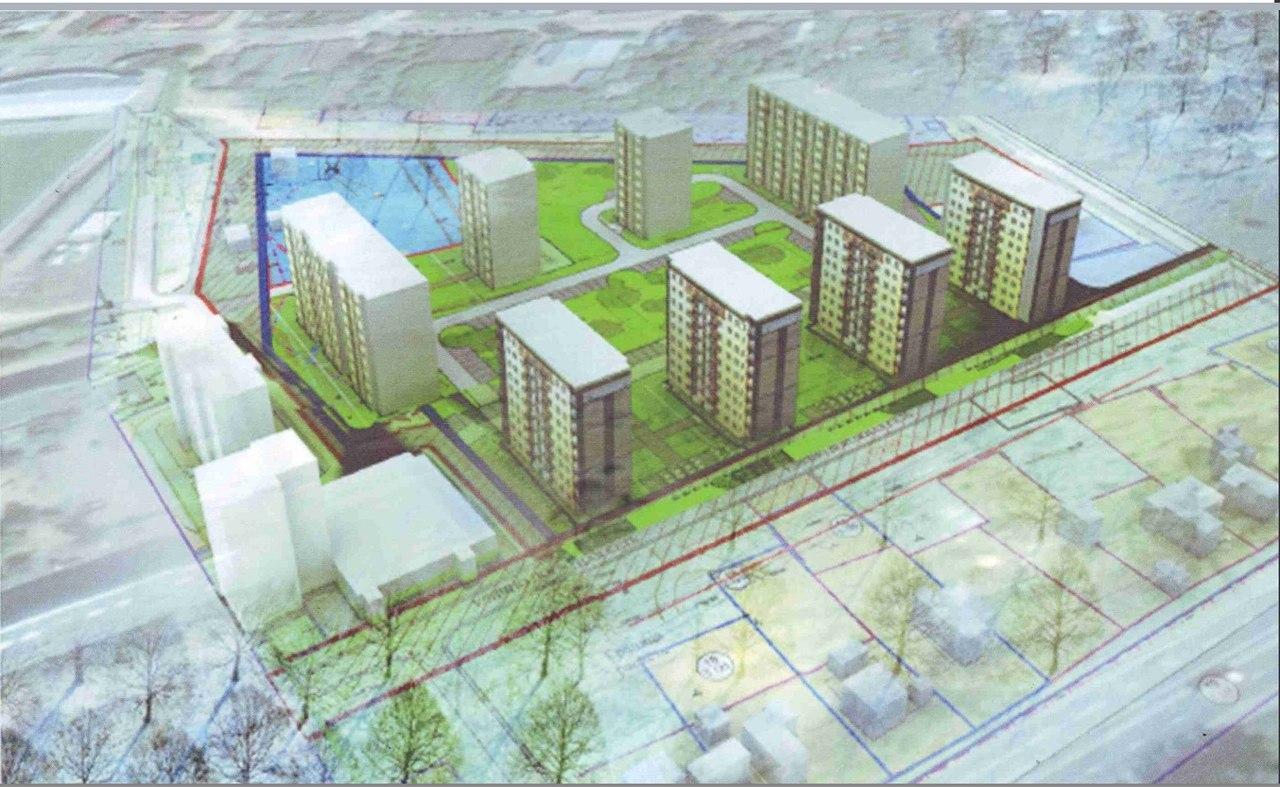 земельные участки под строительство многоквартирного дома
