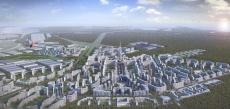 Первые жилые кварталы в городе-спутнике Южный появятся в 2023 году