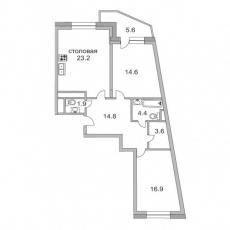 Фото планировки Альбатрос от Сити-XXI век. Жилой комплекс Albatros