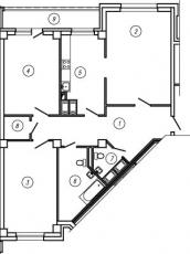 Фото планировки Золотая гавань от Эталон ЛенСпецСМУ. Жилой комплекс