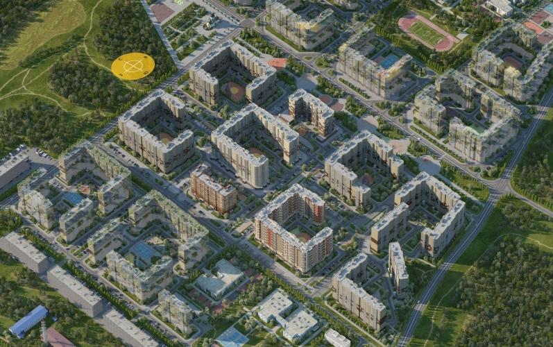 Ingrad выводит на рынок 1,5 тыс. новых квартир в микрорайоне «Новое Пушкино»