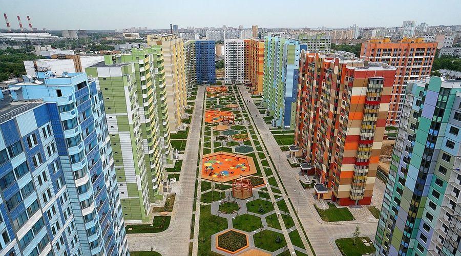 За апрель в Москве введено в эксплуатацию 1 млн кв.м недвижимости