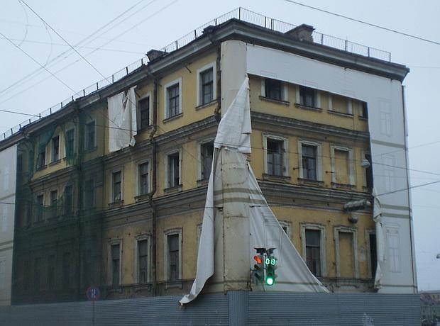 Дом «СУ-155» стал долгостроем из-за КГИОП