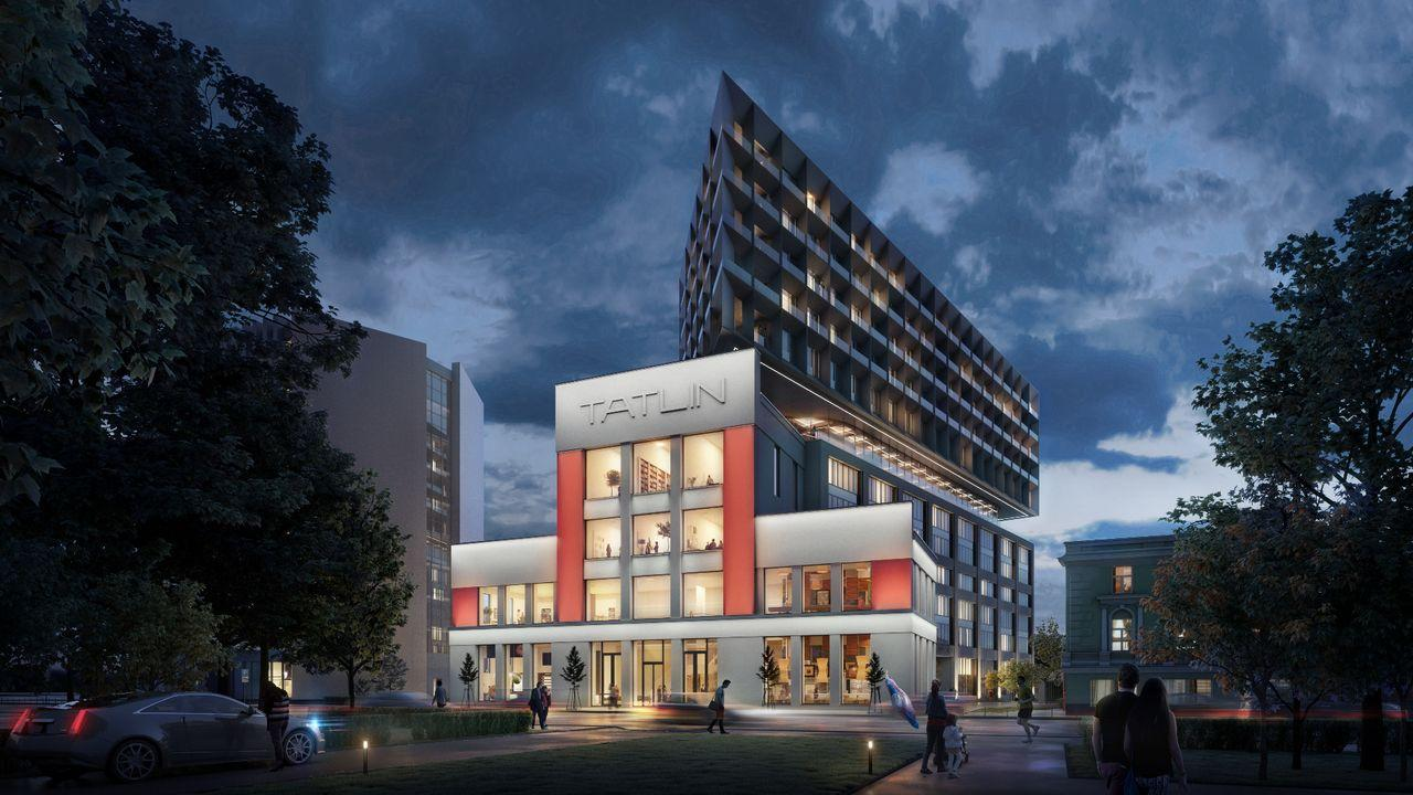 Фото ЖК Tatlin Apartments от Vesta Development. Жилой комплекс Татлин Апартментс