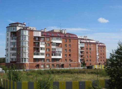 ЖК Пушкинский фасад от компании РСУ-25