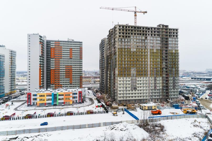 Фото ЖК UP-квартал Комендантский