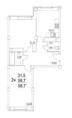Фото планировки Лукино-Варино от СУ 22. Жилой комплекс Lukino-Varino