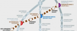 Проектирование участка метро до Сосновой поляны в Петербурге займет 3 года