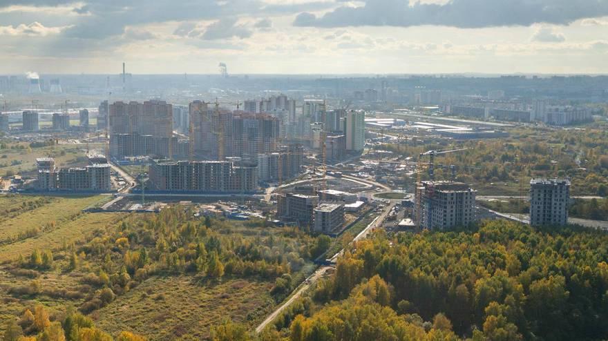 Жители деревни Кудрово во Всеволожском районе Ленобласти хотят стать петербуржцами