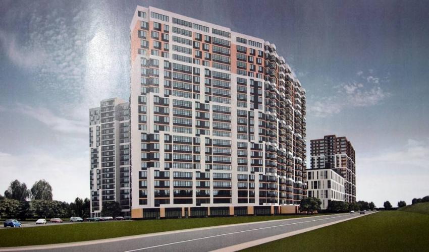 Группа «Эталон» получила разрешение на строительство ЖК комфорт-класса «Охта Хаус» на пустыре, на берегу Охты