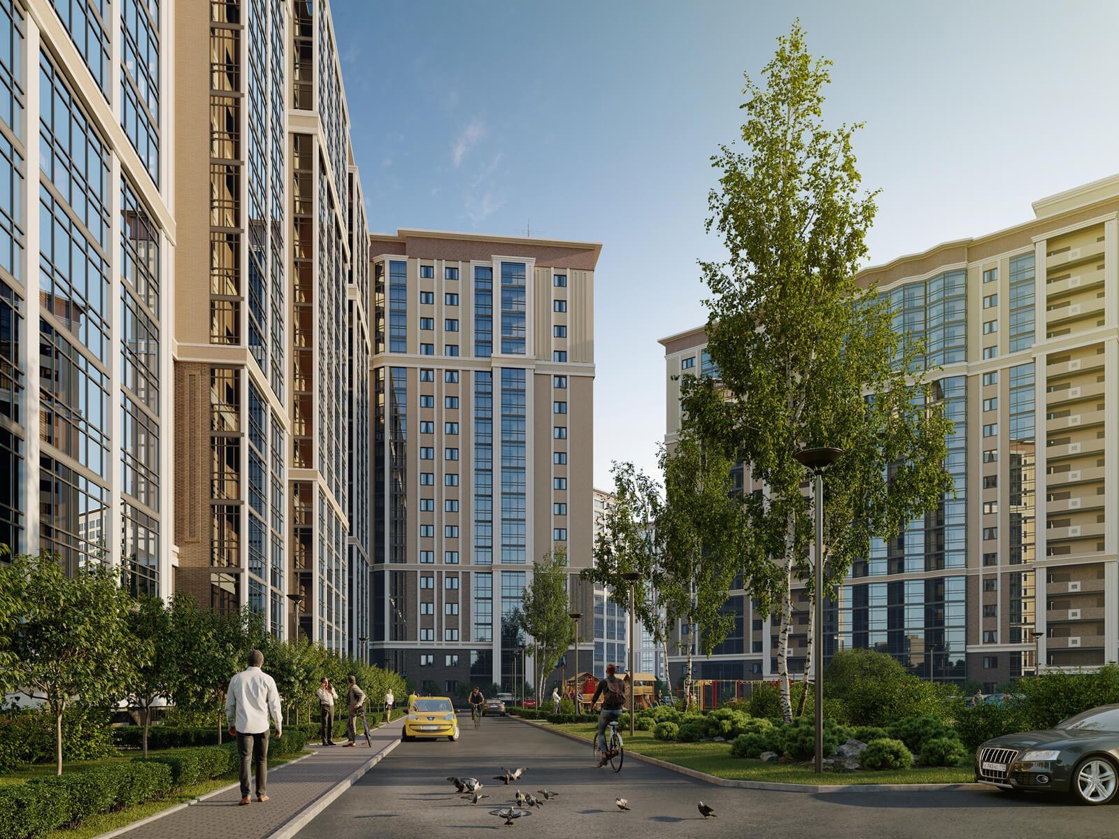 ЖК Звезды Столиц в Санкт-Петербурге от Интергрупп - цены, планировки квартир