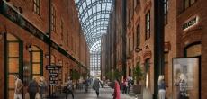 Новое общественное пространство на месте фабрики «Скороход» частично откроется в 2021 году