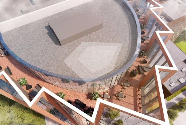 KR Properties построит офисный центр на продажу