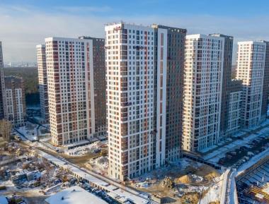 Фото ЖК Оранж Парк от ПИК. Жилой комплекс Orange Park