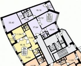 Фото планировки Лира от Стройтэкс. Жилой комплекс Lira