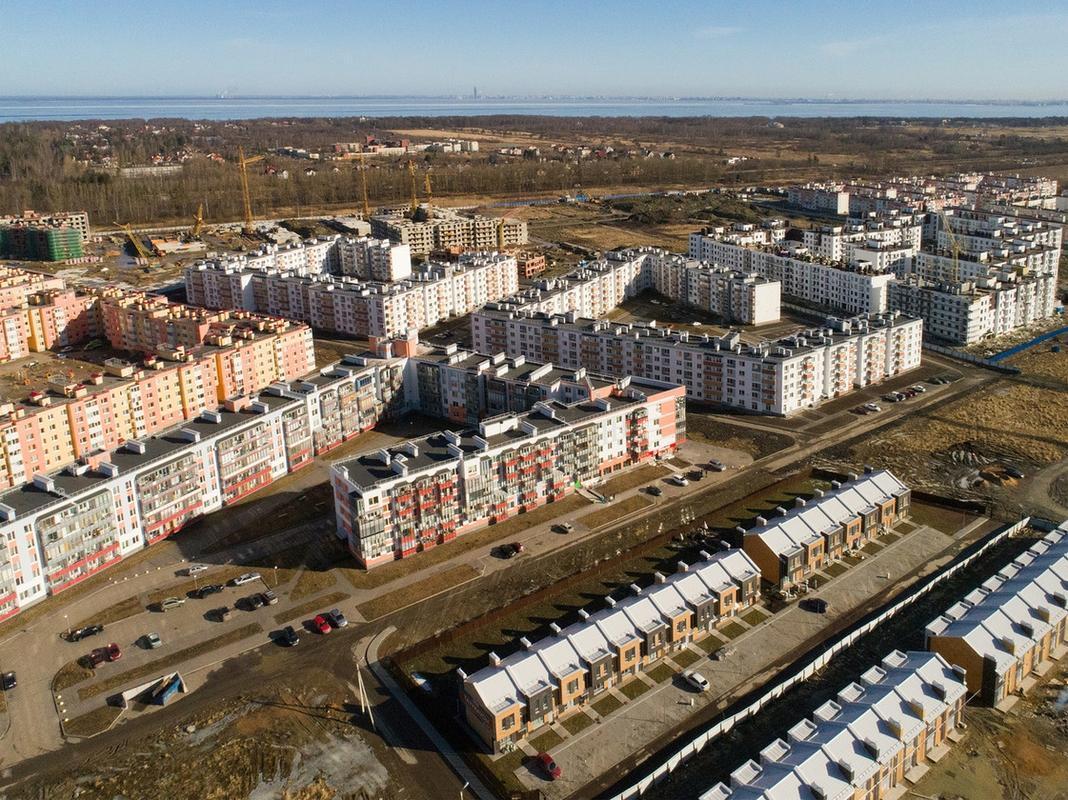 Фото ЖК Новые кварталы Петергофа