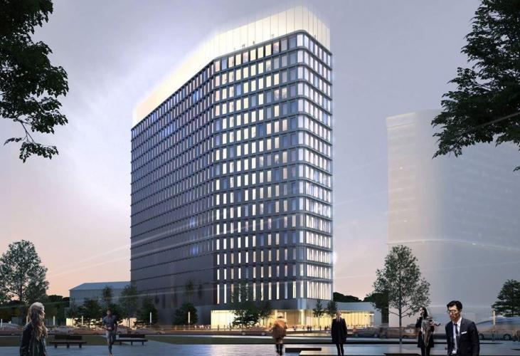 Компания STONE HEDGE построит премиальный бизнес-центр у метро ...