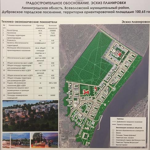 Градсовет Ленобласти с замечаниями одобрил эскизный проект компании «Новая Дубровка» по застройке 100 га в Невской Дубровке