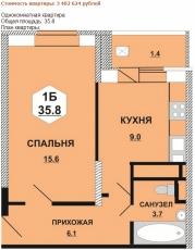 Фото планировки Маяковский от Инвестстройкомплекс. Жилой комплекс Mayakovskiy