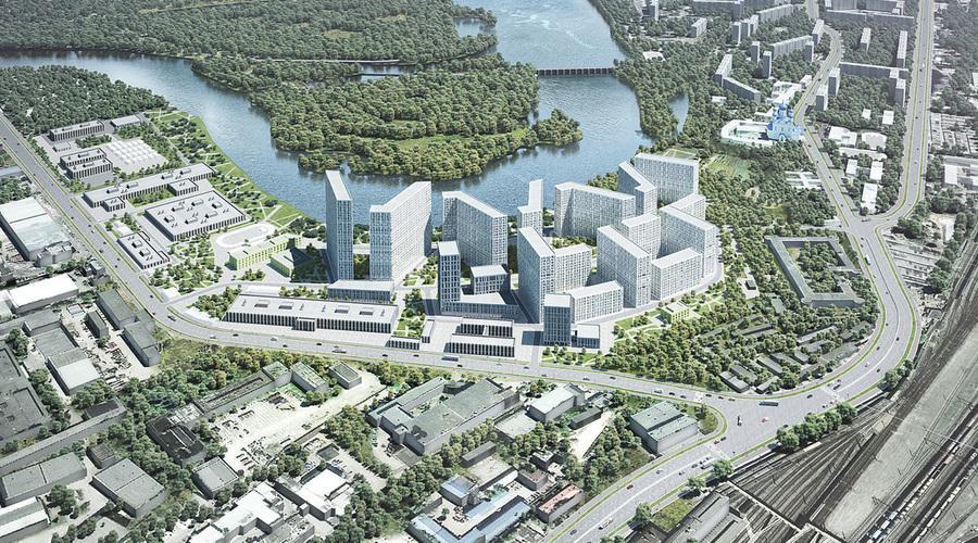 В Печатниках построят более 550 тыс. кв.м недвижимости