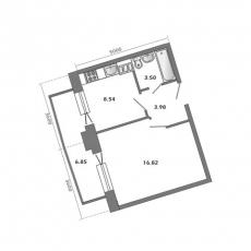 Фото планировки Доминанта от Стройкорпорация Элис. Жилой комплекс Dominanta