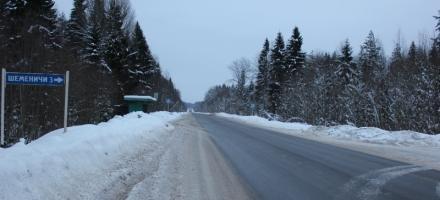 Злоумышленники уничтожили  12 км дороги  Лодейное поле — Вытегра