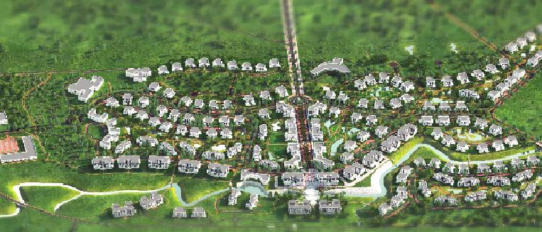 Компания «Гатчинская гольф-деревня» получила разрешение на строительство города-курорта «Gatchina Gardens» в Ленобласти