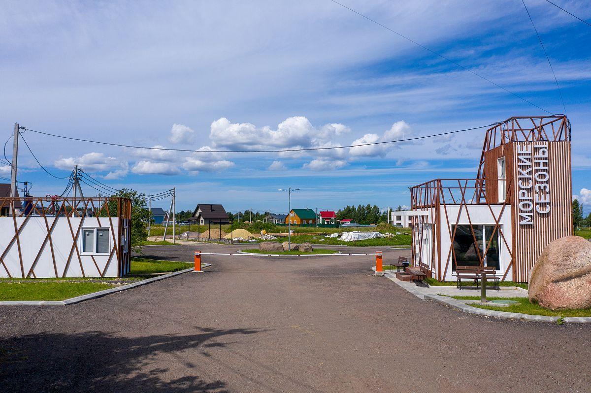 Фото коттеджного поселка Морские сезоны от Максимум Life Development. Коттеджный поселок