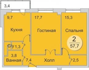 Фото планировки Зеленый Берег от ЮИТ СитиСтрой. Жилой комплекс