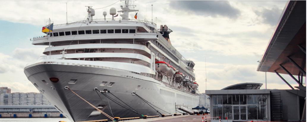 Порт «Морской фасад» в Петербурге реконструируют