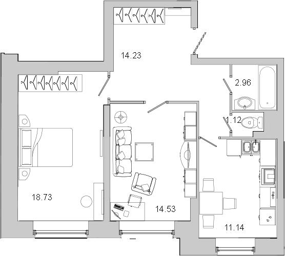 Продажа 3-комн квартиры на вторичном рынке Петергоф, Блан-Менильская ул. дом 1