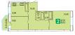 Планировка ЖК «Центральный», 25.79 м2